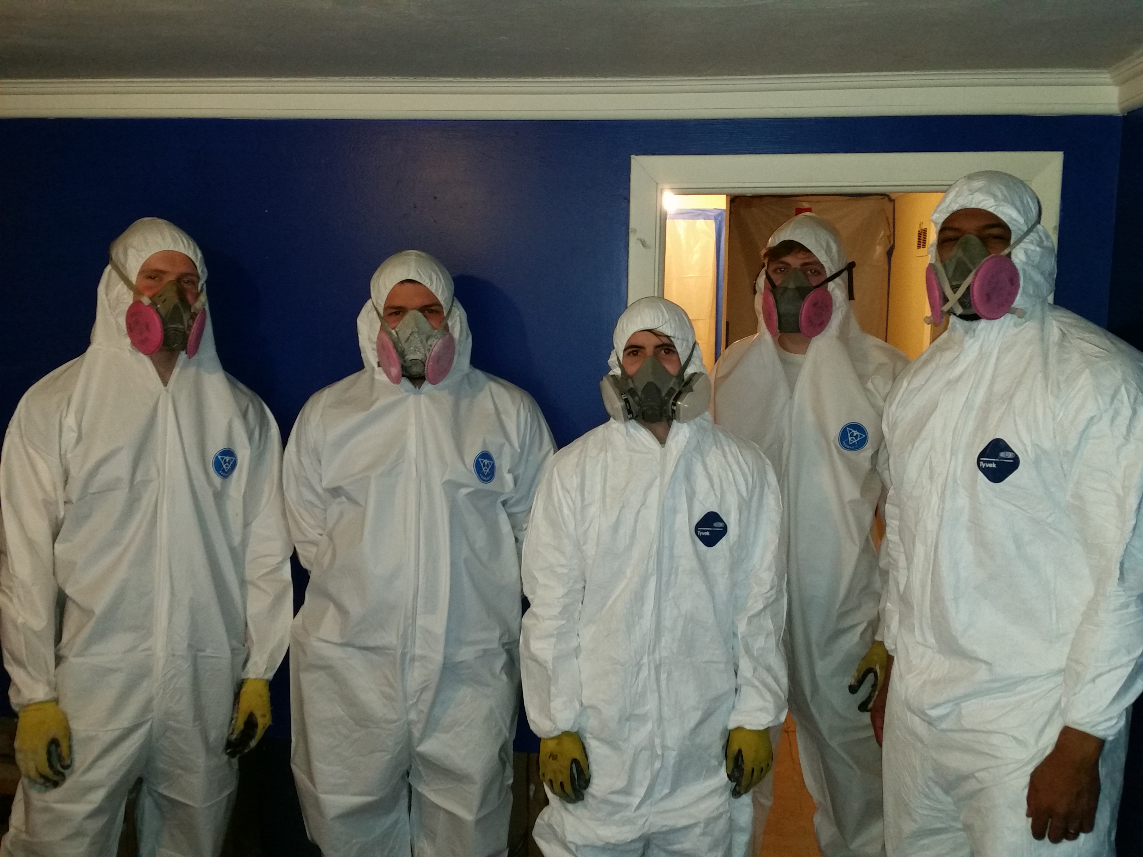 Mold Remediation Team Pic